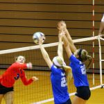 Olentangy Liberty High School Girls Varsity Volleyball beat Marysville High School 3-0