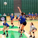 Olentangy Liberty High School Girls Varsity Volleyball beat Dublin Scioto High School 2-0
