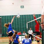 Olentangy Liberty High School Girls Varsity Volleyball beat Marion Pleasant High School 2-1