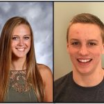 Peroni & Bently LHS American Family Ins Co-Athletes of the Week for 2/2/17