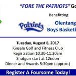 Boys Basketball Fundraiser – Golf Outing on Aug 8th