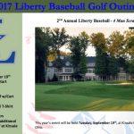 Baseball Fundraiser – Golf Outing on September 19th