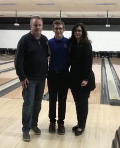 Boys Bowling Senior Night