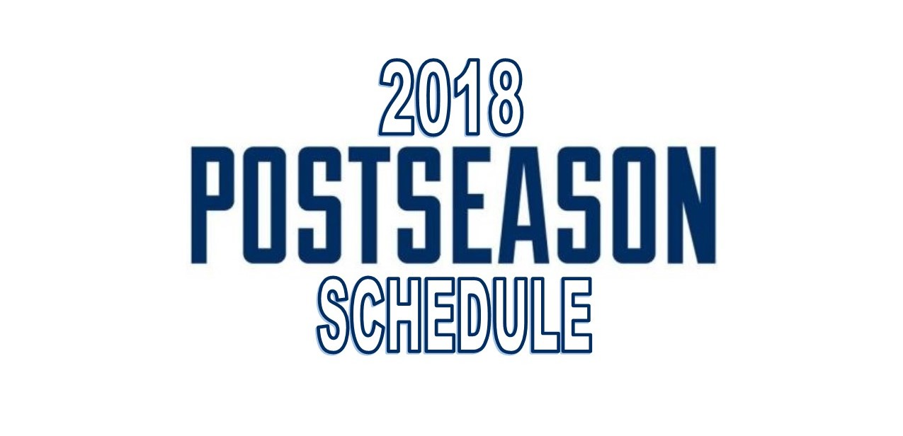 Patriots Post Season Schedule