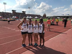 4×200 State Track Team 2018