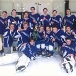 Boys Junior Varsity Hockey beats Jerome 3 – 2 in Allgeyer Championship game.