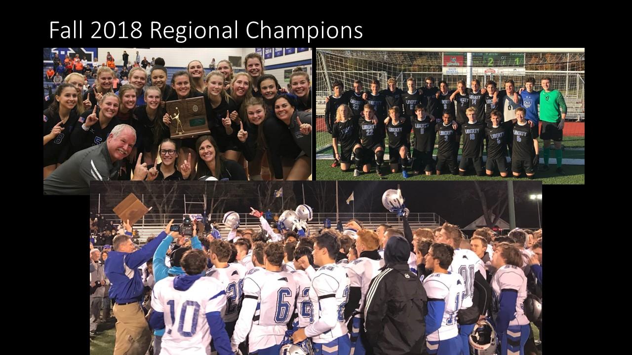 Fall 2018 Fall Regional Champions