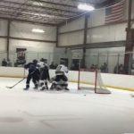 Boys Varsity Hockey beats New Albany 4 – 3 in OT