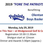 Reminder: Boys Basketball Golf Outing – July 29th at Wedgewood Golf & CC