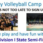 Liberty Girls Volleyball Camp – July 9-11th