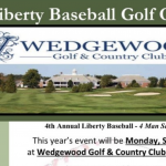 Reminder: Liberty Baseball Golf Outing – Monday, September 30th at Wedgewood G&CC