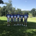 Boys Varsity Golf finishes 1st place at Golden Bear Invitational at Zanesville Country Club