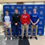Four LHS Athletes Sign on National Signing Day