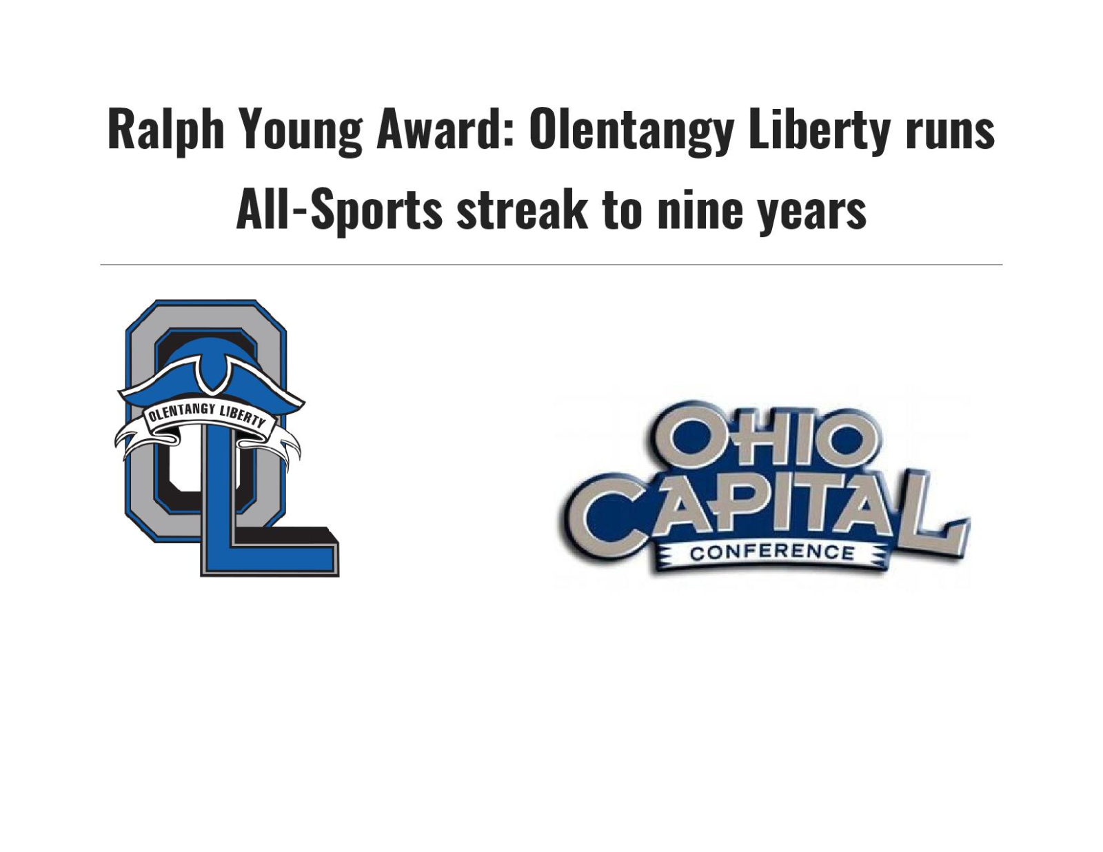 Liberty Wins Ralph Young All-Sports Award