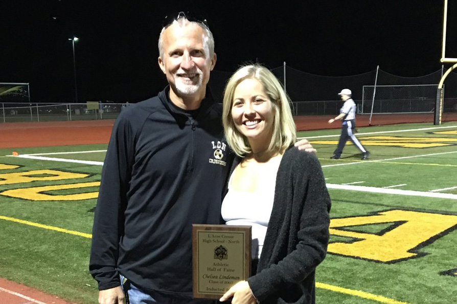 Chelsea Lindeman Inducted into LCN Athletic HOF