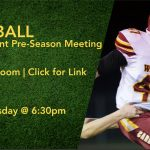 Football Informational ZOOM Meeting!