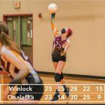 HS Volleyball beats Onalaska in a thriller!