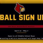 MS Boys Basketball Sign Ups!
