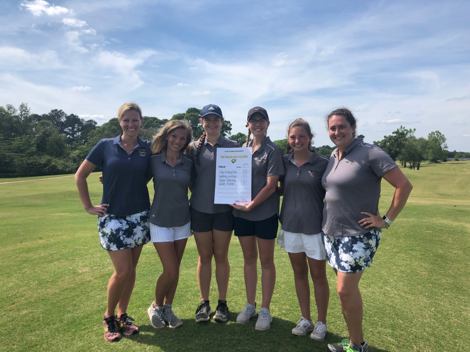 Girls' Golf Team headed to STATE!