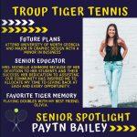 Senior Athlete Spotlight!