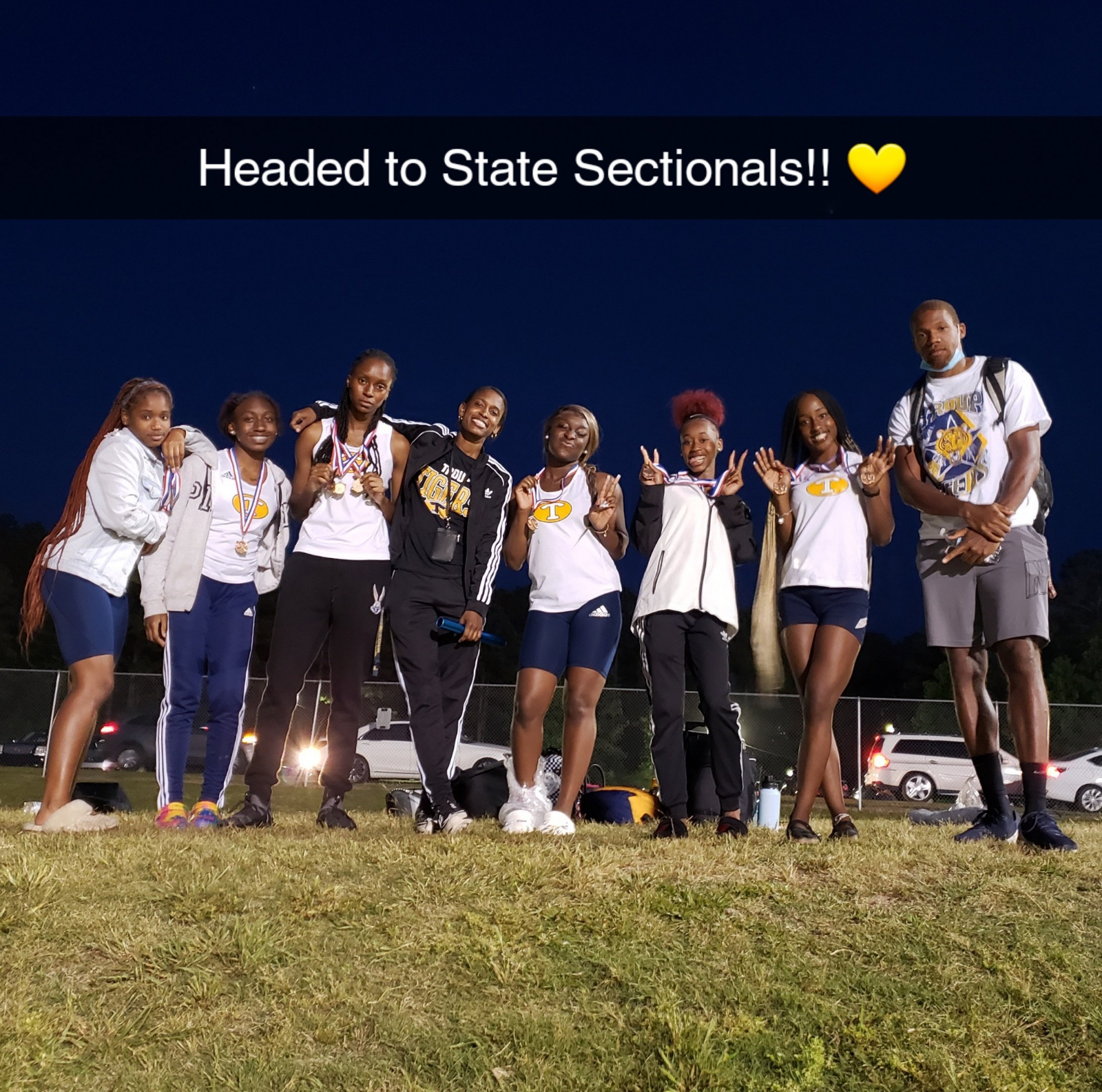 Girls' track advances in State!