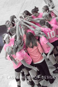 Volleyball – Pink Out 2012