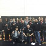 West Ottawa High School Coed Varsity Wrestling finishes 3rd place