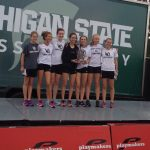 West Ottawa High School Girls Varsity Cross Country finishes 2nd place
