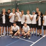 West Ottawa High School Boys Varsity Tennis finishes 1st place