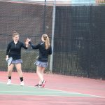 West Ottawa High School Girls Varsity Tennis falls to Forest Hills Central High School 5-3