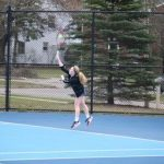 West Ottawa High School Girls Varsity Tennis beat Hamilton High School 8-0