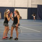 West Ottawa High School Girls Varsity Tennis beat Caledonia High School 8-0