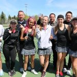 West Ottawa High School Girls Varsity Tennis finishes 1st place