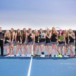West Ottawa High School Girls Varsity Tennis beat Grandville High School 8-0