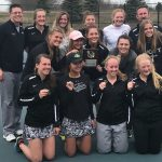 Girls Varsity Tennis finishes 1st place at (Caledonia Invite)