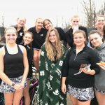 Girls Varsity Tennis beats Grandville 8 – 0