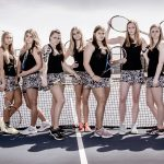 Girls Varsity Tennis beats Zeeland East 8 – 0