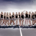 Girls Varsity Tennis beats Caledonia 8 – 0