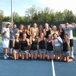 Girls Varsity Tennis finishes 1st place at Division 1 Tennis Regional