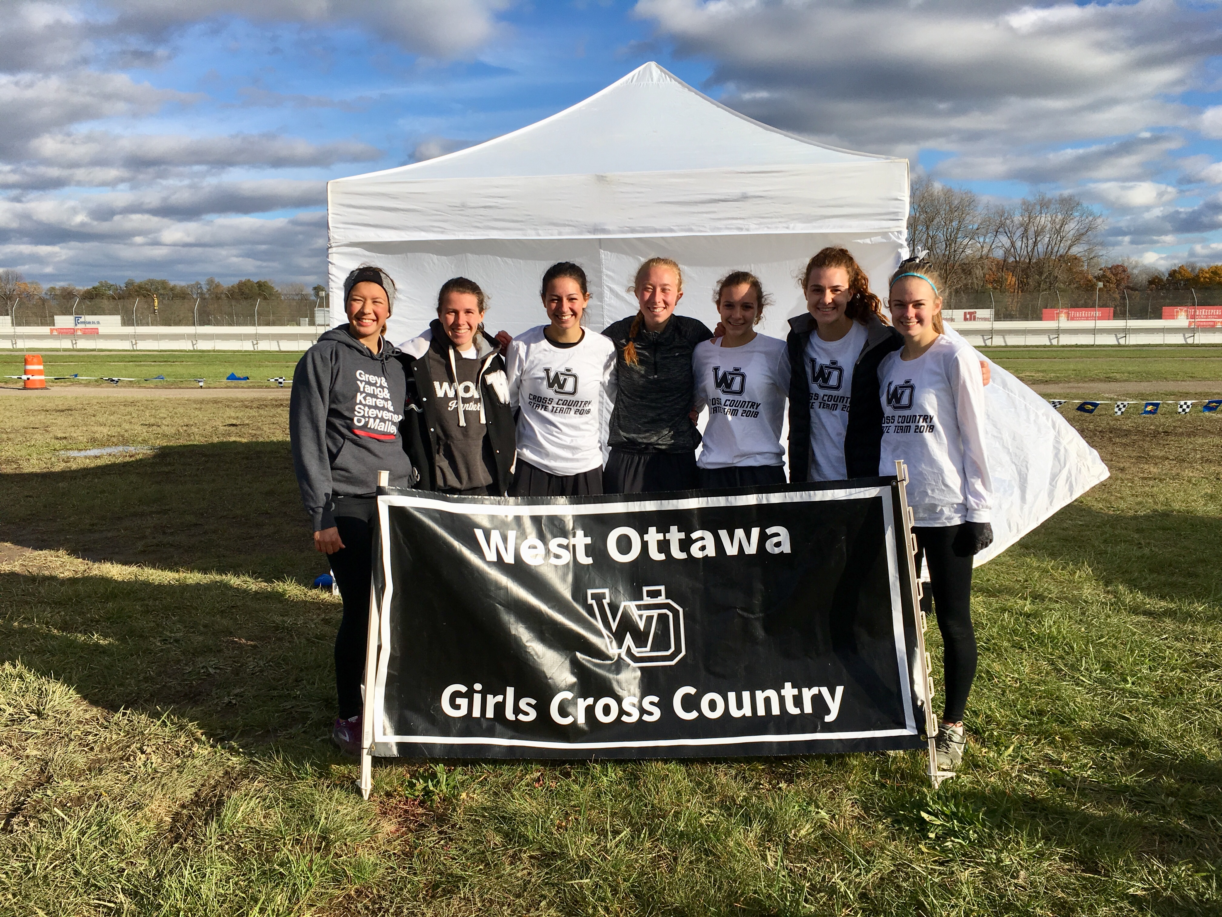 Girls Cross Country runs to best State Meet finish in 22 years.