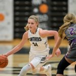 Girls Varsity Basketball beats Gull Lake 55 – 27