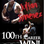 Julian Jimenez Secures 100th Win at OK Red Chmpionships