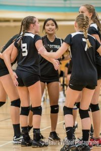 Middle School Volleyball – 2018