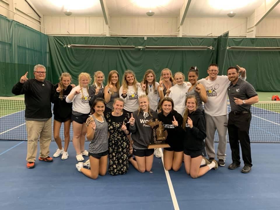 Girls Varsity Tennis wins second straight Regional Title!