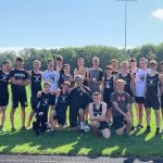 Men's Varsity Cross Country Powers to First Place at Invitational