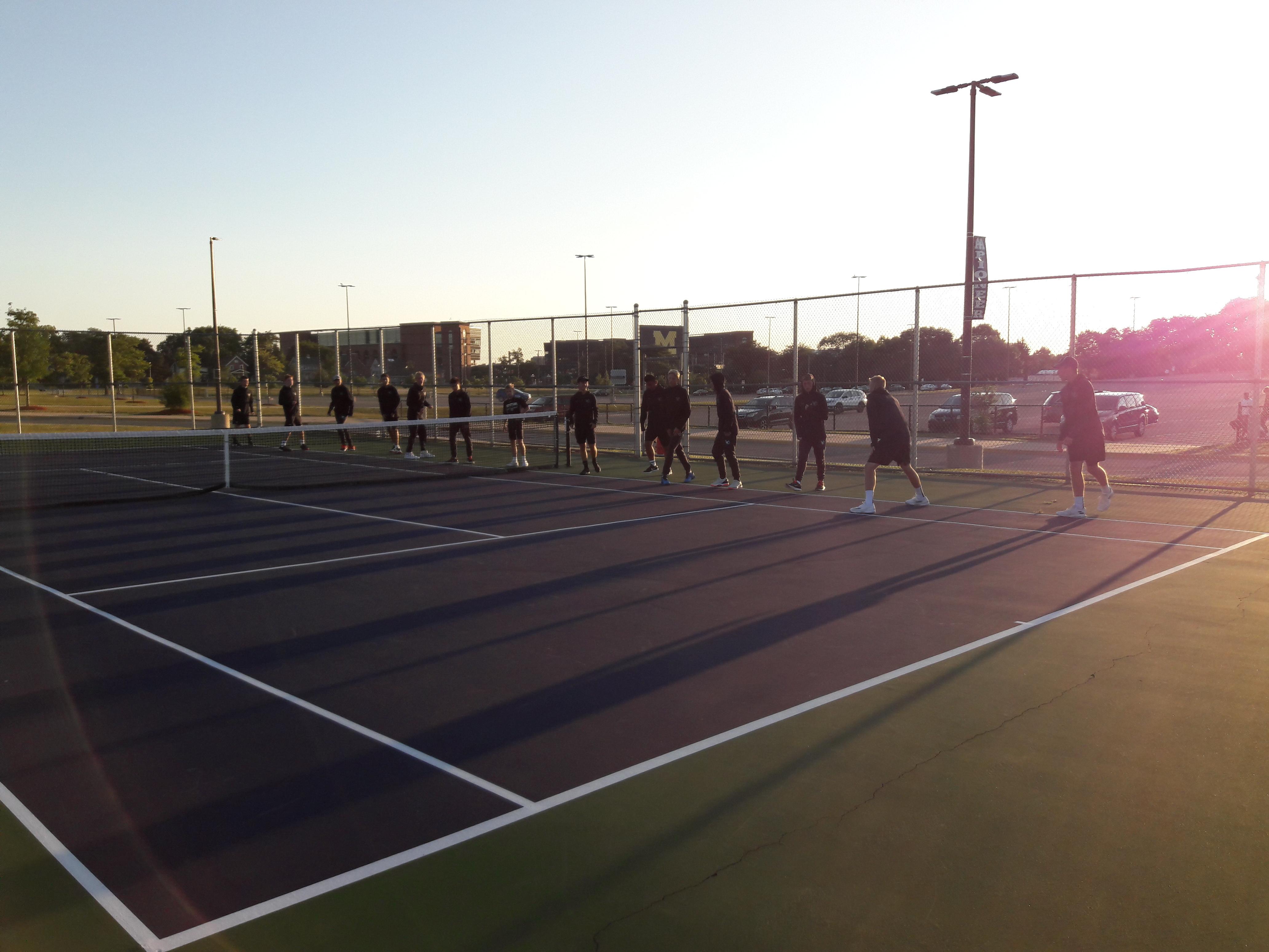 Boys Varsity Tennis finishes 5th place at Ann Arbor Invitational