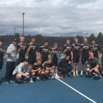 Boys Varsity Tennis finishes 1st place at West Ottawa Varsity Quad