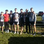 Men's Varsity Cross Country Captures 2nd Place Trophy