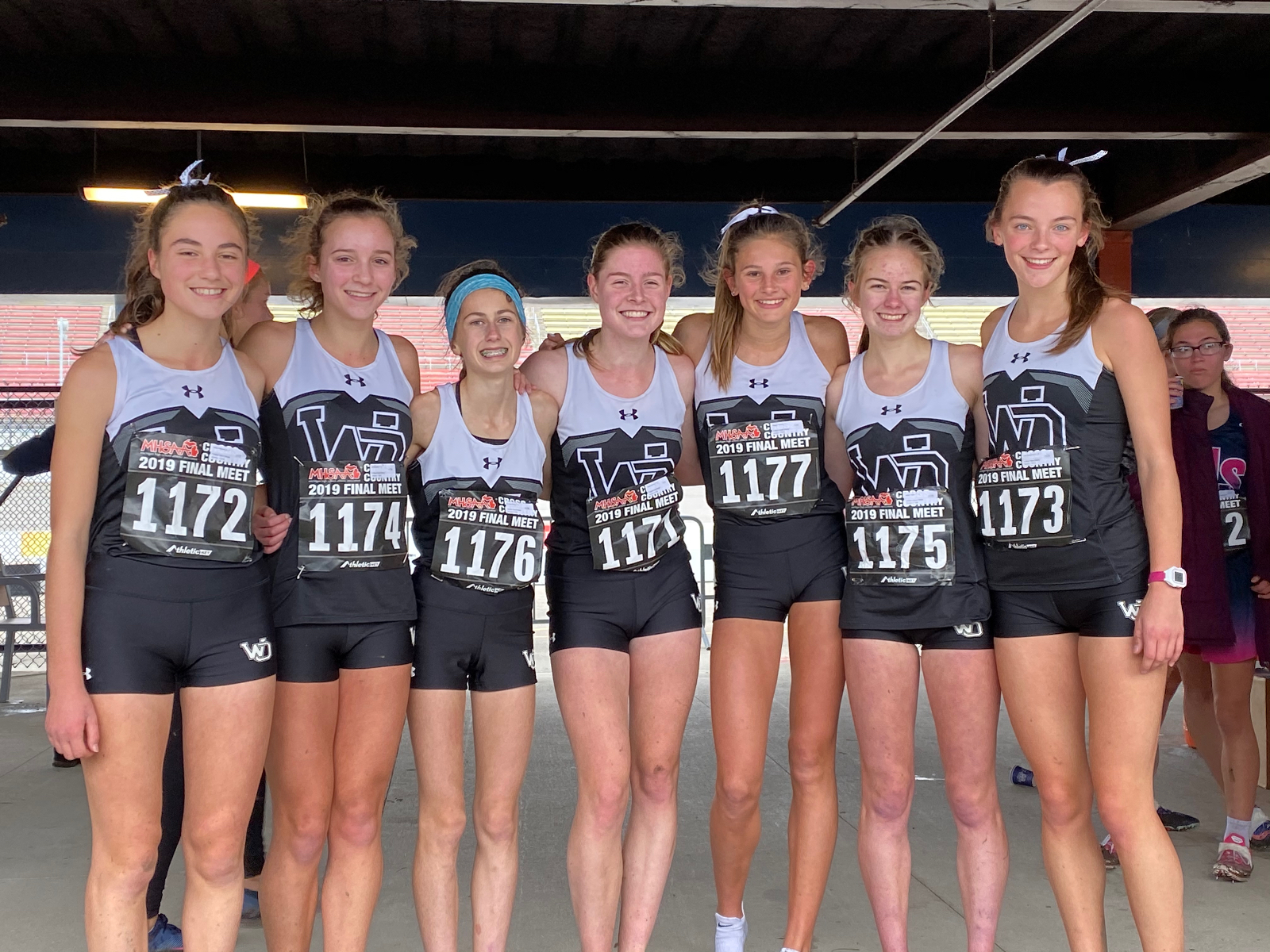 Girl's Cross Country Finishes 7th at State Championship