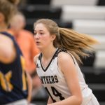 Girls Varsity Basketball beats Traverse City Central 50 – 37